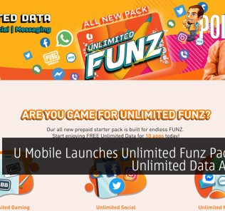 U Mobile Launches Unlimited Funz Pack With Unlimited Data At RM10 40