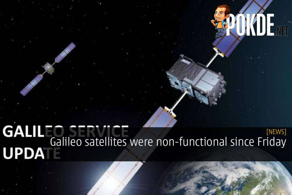 Galileo satellites were non-functional since Friday 32