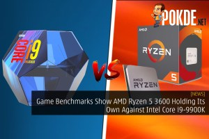 Game Benchmarks Show AMD Ryzen 5 3600 Holding Its Own Against Intel Core i9-9900K 3600x