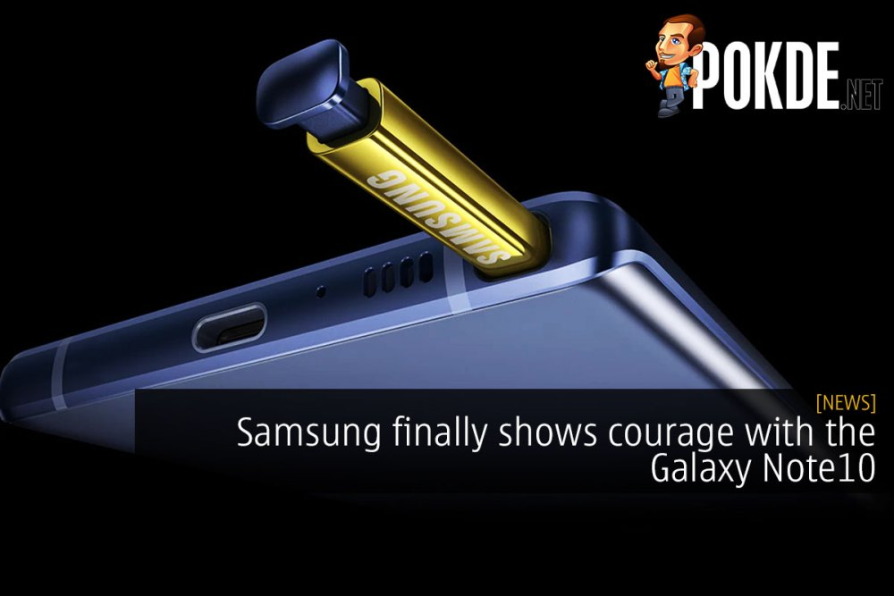 Samsung finally shows courage with the Galaxy Note10 23