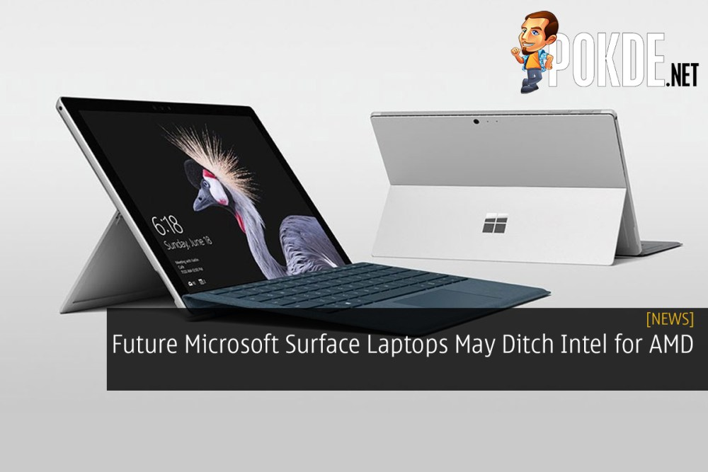 Future Microsoft Surface Laptops May Ditch Intel for AMD