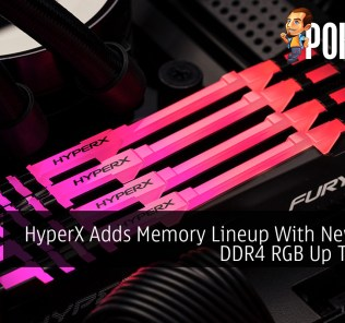 HyperX Adds Memory Lineup With New FURY DDR4 RGB Up To 64GB 47