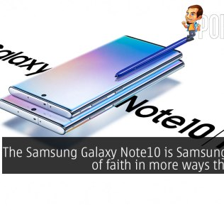 The Samsung Galaxy Note10 is Samsung's leap of faith in more ways than one 34