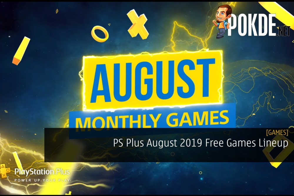 PS Plus August 2019 Free Games Lineup