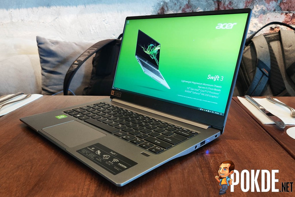 [IFA 2019] Acer somehow manages to cram a GeForce MX250 into the 990-gram Acer Swift 5 30