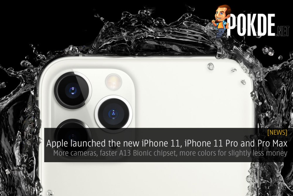Apple launched the new iPhone 11, iPhone 11 Pro and iPhone 11 Pro Max — more cameras, faster A13 Bionic chipset, more colors for slightly less money 16
