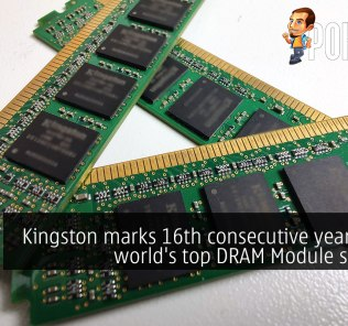 Kingston marks 16th consecutive year as the world's top DRAM Module supplier 26
