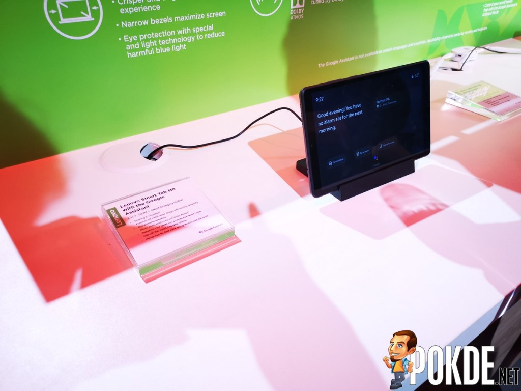 [IFA 2019] Lenovo Yoga Smart Tab Easily Turns Your Home Into a Smart Home