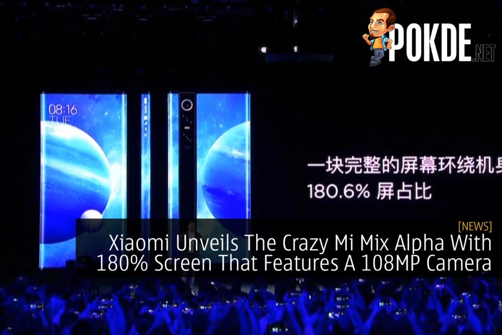 Xiaomi Unveils The Crazy Mi Mix Alpha With 180% Screen That Features A 108MP Camera 31