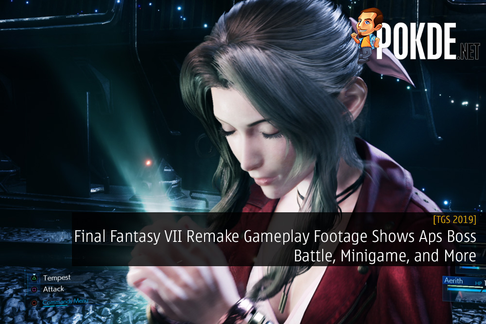 [TGS 2019] Final Fantasy VII Remake Gameplay Footage Shows Aps Boss Battle, Minigame, and More
