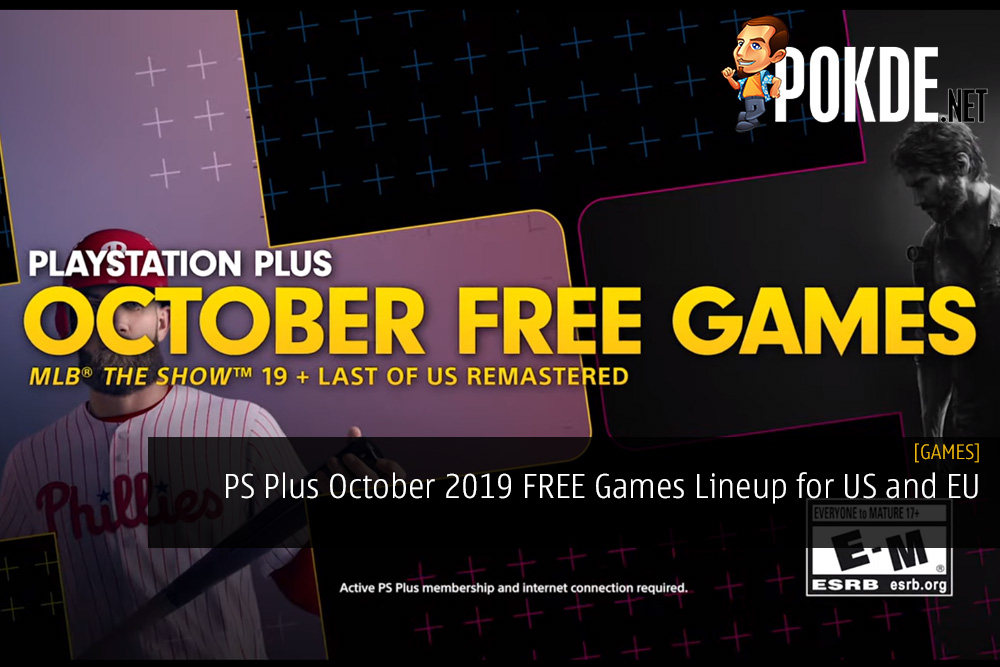 PS Plus October 2019 FREE Games Lineup for US and EU Regions