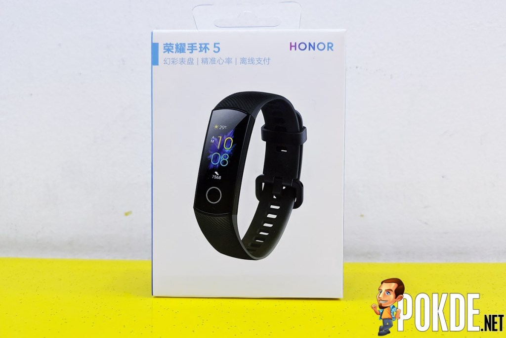 HONOR Band 5 review box front