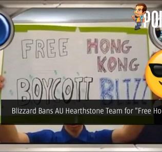 "Blizzard Bans AU Hearthstone Team for ""Free Hong Kong"" Sign"