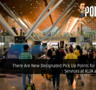 There Are New Designated Pick Up Points for E-Hailing Services at KLIA and KLIA2