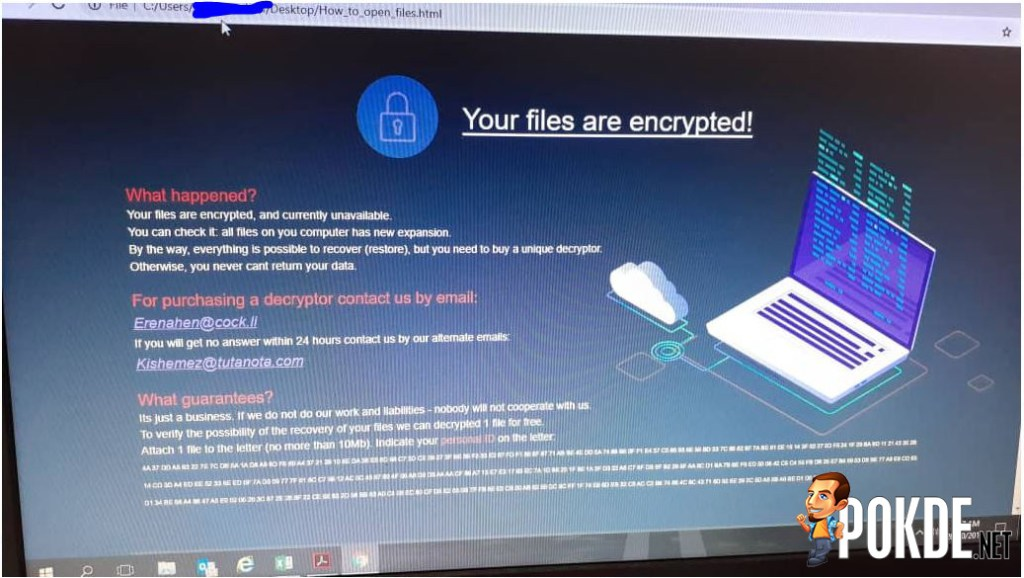 POS Malaysia site is down, possibly a ransomware attack 26