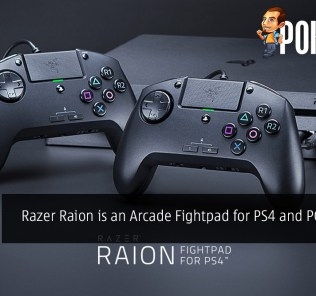 Razer Raion is an Arcade Fightpad for PS4 and PC Gaming