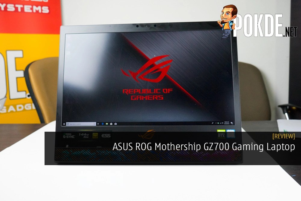 ASUS ROG Mothership GZ700 Review - For a Better Tomorrow