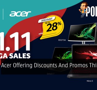Acer Offering Discounts And Promos This 11.11 21