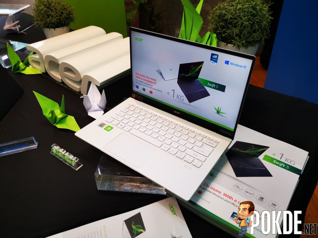 New Acer Swift 5 Launched in Malaysia - It's Light But It Packs a Punch