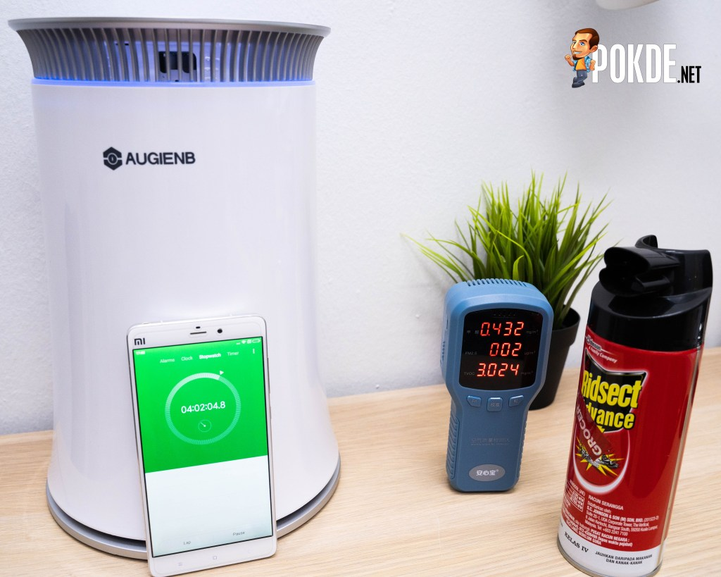 The curious case of AUGIENB HEPA Air Purifier 20