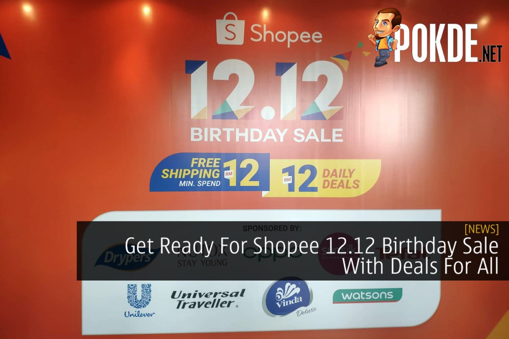 Get Ready For Shopee 12.12 Birthday Sale With Deals For All 29