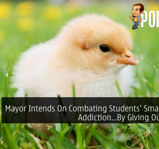 Mayor Intends On Combating Students' Smartphone Addiction...By Giving Out Chicks 26