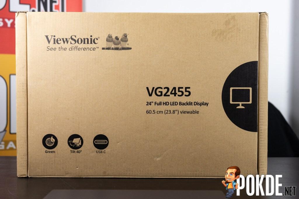 viewsonic vg2455 review box outside