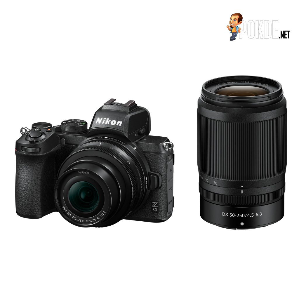 Nikon Z 50 Twin Lens kit with 16-50mm + 50-250mm