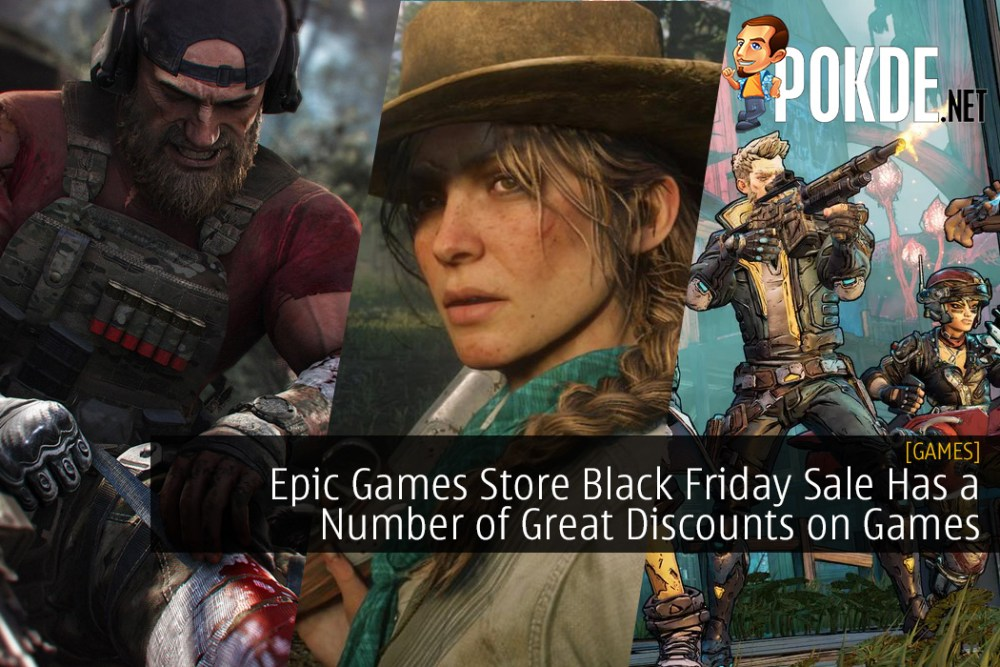 Epic Games Store Black Friday Sale Has a Number of Great Discounts on Games