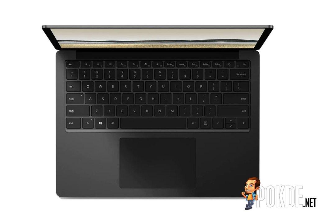 surface laptop 3 black metal