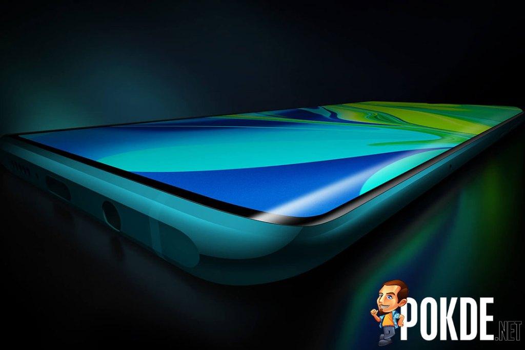 xiaomi cc9 pro curved screen