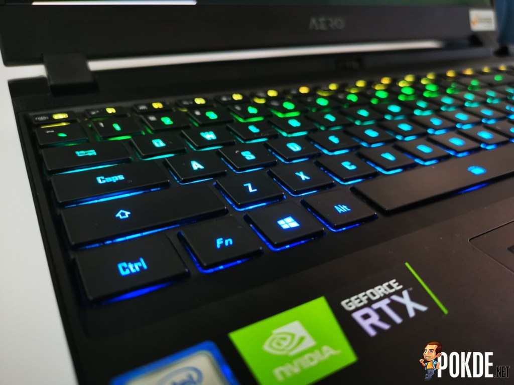 GIGABYTE AERO 15 XA OLED Laptop Review - Big Things Come in Small Packages 28
