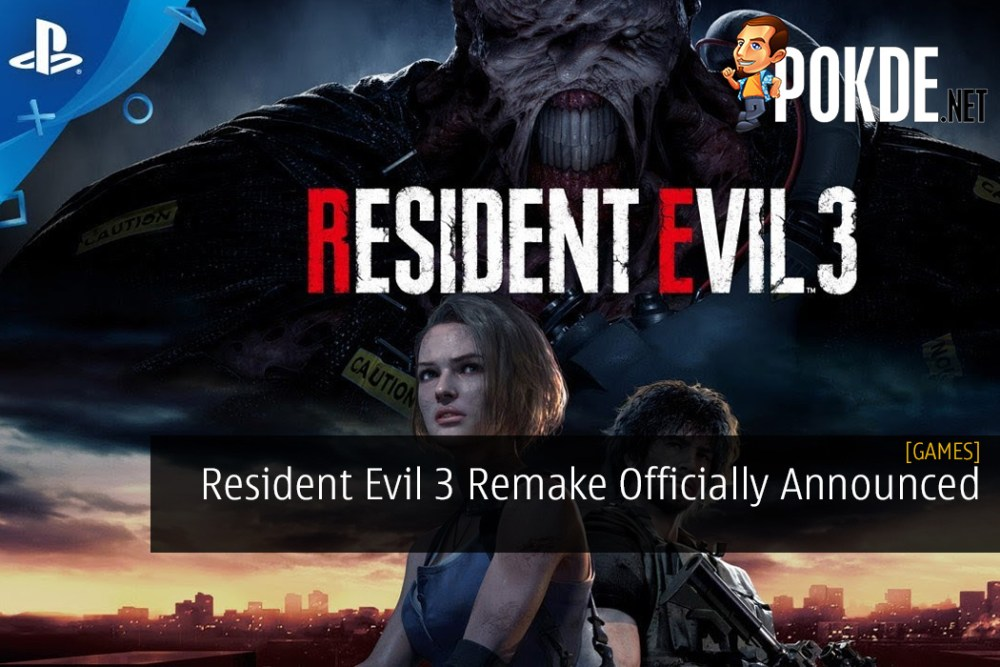 Resident Evil 3 Remake Officially Announced