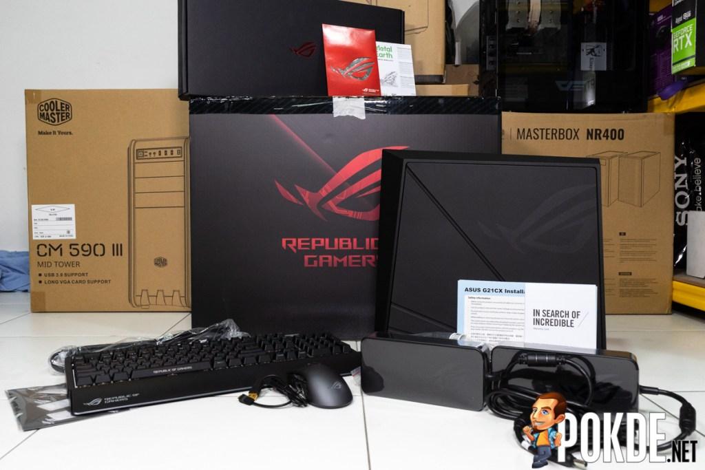 ASUS ROG Huracan (G21CX) Review — redefining gaming desktops 25