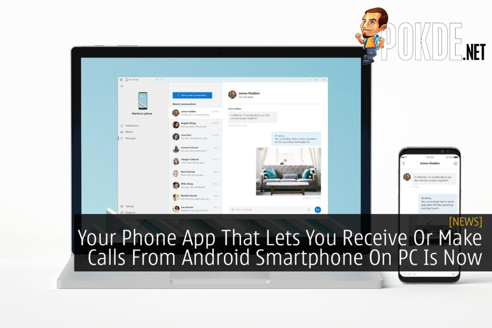 Your Phone App That Lets You Receive Or Make Calls From Android Smartphone On PC Is Now Available 17