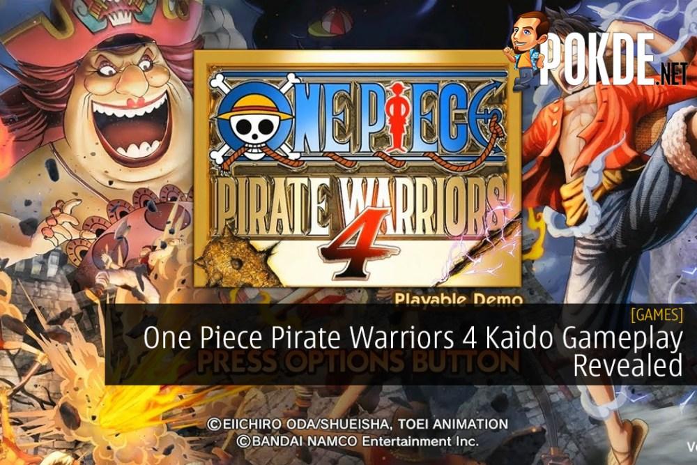 One Piece Pirate Warriors 4 Kaido Gameplay Revealed