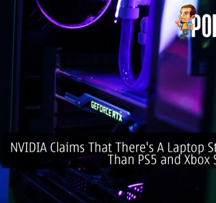 NVIDIA Claims That There's A Laptop Stronger Than PS5 and Xbox Series X