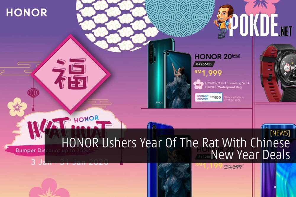 HONOR Ushers Year Of The Rat With Chinese New Year Deals 26