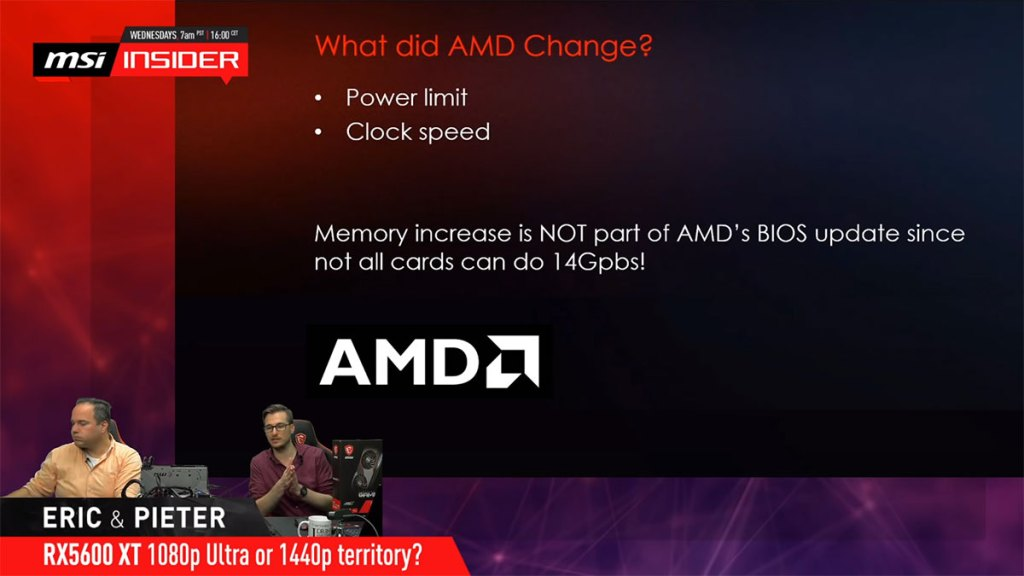 "The AMD Radeon RX 5600 XT ""upgrade"" was really a surprise, even for AMD's partners 36"