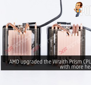 [UPDATED] AMD upgraded the Wraith Prism CPU cooler with more heatpipes 31