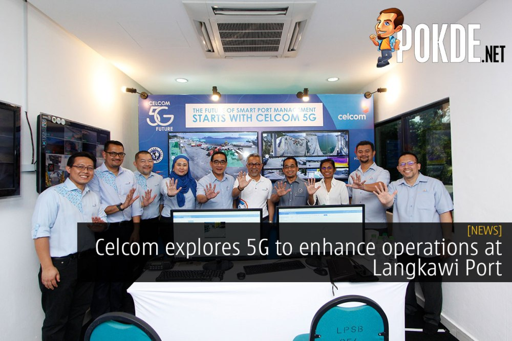 celcom 5g operations langkawi port