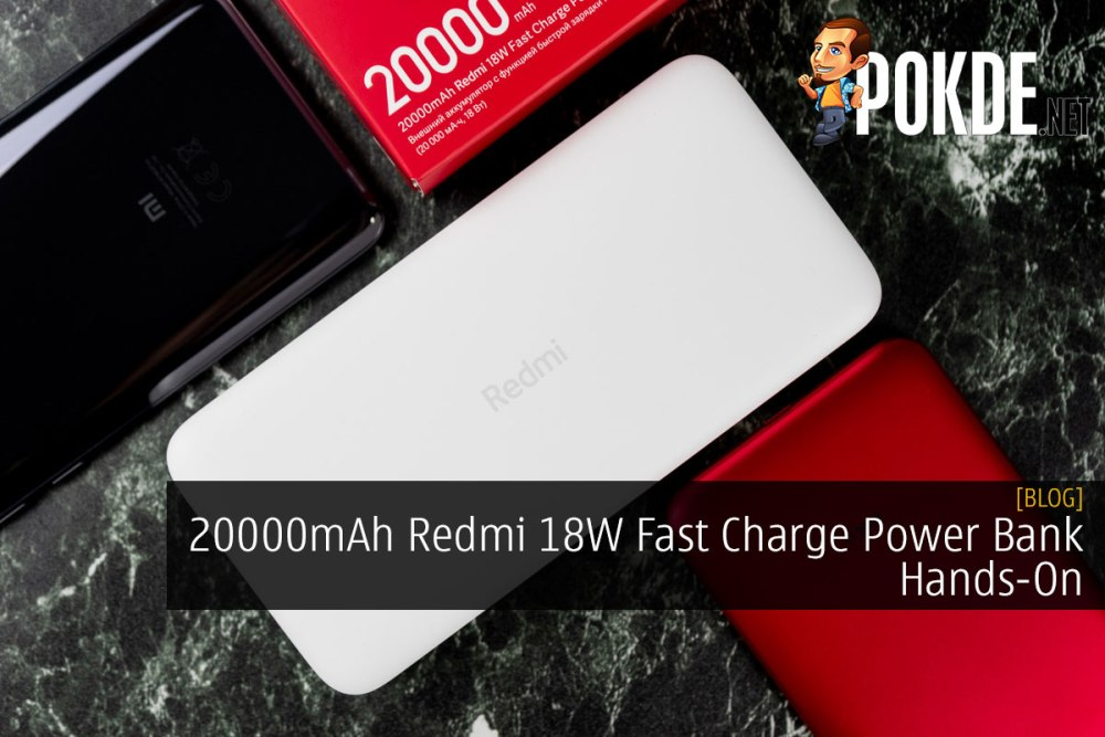 20000mAh Redmi 18W Fast Charge Power Bank Hands-On 22