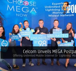 Celcom Unveils MEGA Postpaid Plan — Offering Unlimited Mobile Internet Or 'Lightning' Mobile Speeds 29
