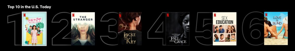 Netflix Rolling Out Top 10 Popular Titles Feature 23