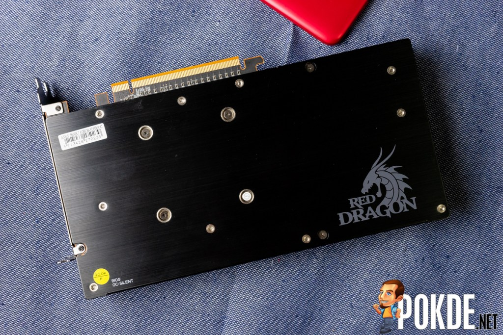 PowerColor Red Dragon Radeon RX 5600 XT backplate