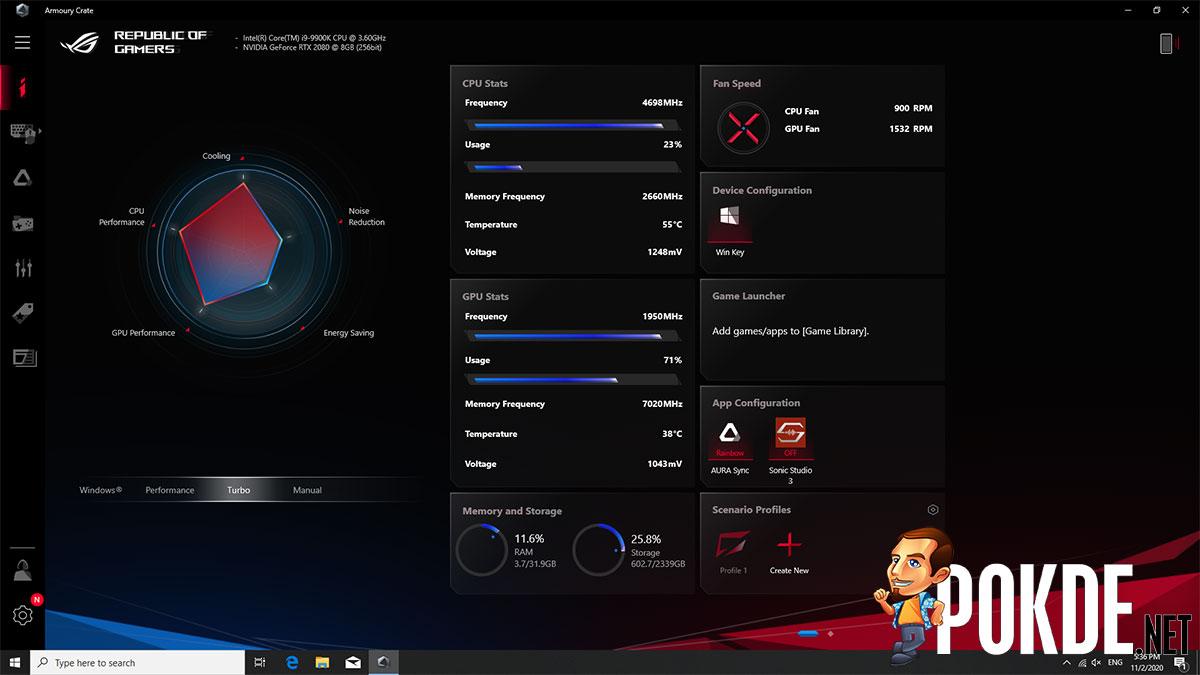 ASUS ROG Huracan (G21CX) Review — redefining gaming desktops 45