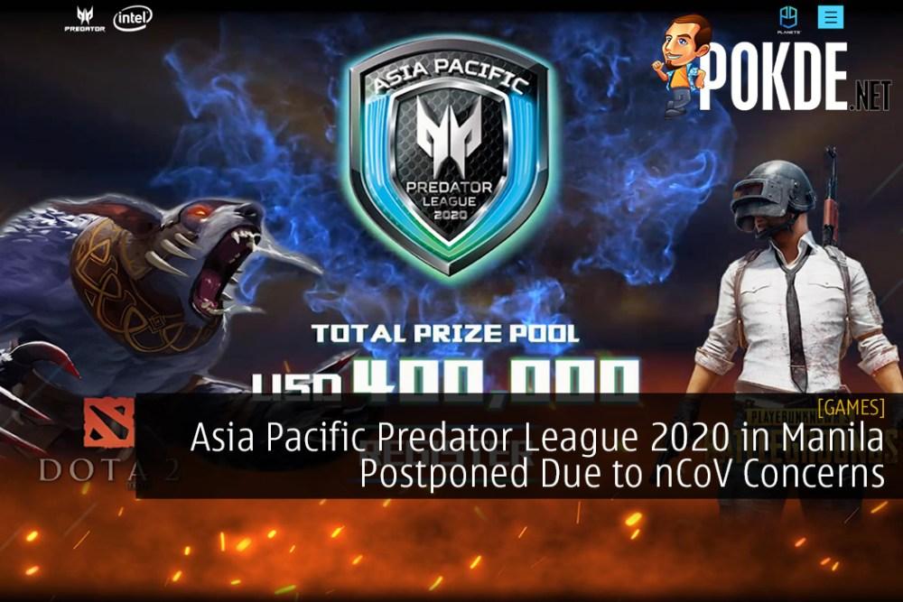 Asia Pacific Predator League 2020 in Manila Postponed Due to nCoV Concerns 20