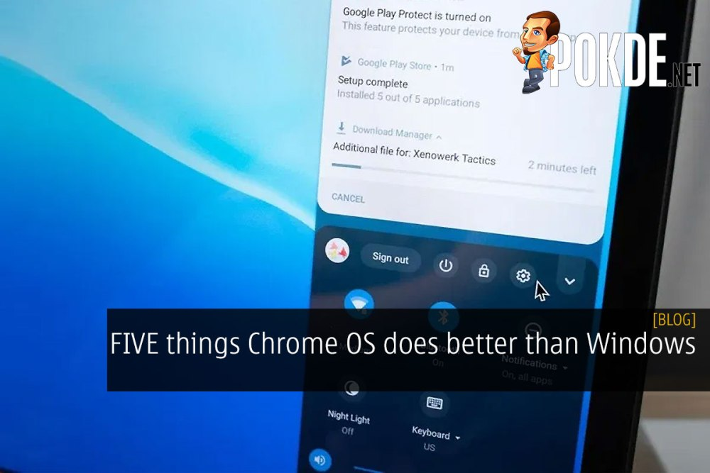 FIVE things Chrome OS does better than Windows 26