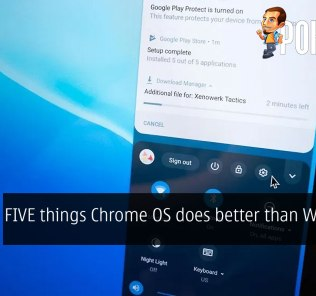 FIVE things Chrome OS does better than Windows 32