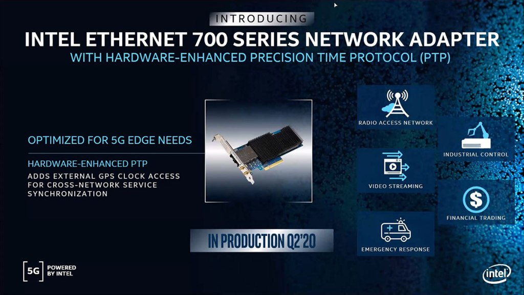 Intel announces latest members of their 5G infrastructure portfolio 26